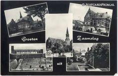 School, Cards, Map