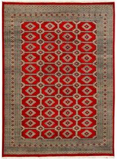 "Red Oriental Jaldar Rug 8' 2"" x 10' 4"" (ft) - No. 20027"