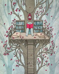 What child wouldn.t LOVE thiis...   illustration  By: Kuba Gornowicz