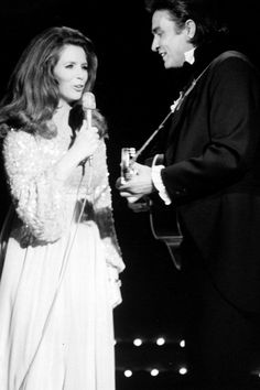 June Carter and Johnny Cash | http://aol.it/UX781r via @stylelist