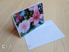 Handmade Card with motifs from my garden  Blank by LilsCardCraft, $2.50