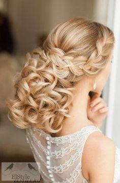 Elstile Wedding Hairstyle Inspiration