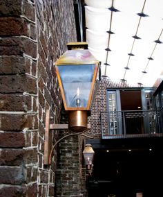 Check out the Charleston Solid Top Wall light fixture from The Urban Electric Co.