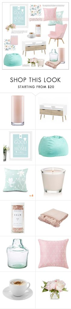 """Good To Be Home"" by rever-de-paris ❤ liked on Polyvore featuring interior, interiors, interior design, home, home decor, interior decorating, Kate Spade, PBteen, Jaipur and Mr. Coffee"