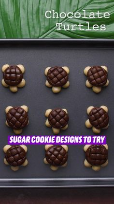 Fun Baking Recipes, Sweet Recipes, Cookie Recipes, Just Desserts, Delicious Desserts, Yummy Food, Yummy Cookies, Sugar Cookies, Cookie Designs