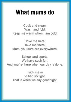 mothers day poems for kids google search mum poems mother poems kids poems