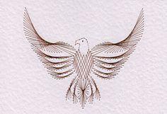 stitched eagle