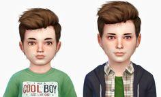 The Sims 4 Mody: Fryzura dla chłopców od Fabienne