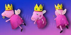 Piñata Peppa Pig Hada, fiesta, Milly Piñatas