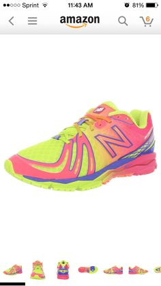 New Balance womens W890 Rainbow... Sneakers with color!!!