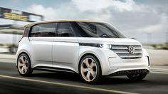 Volkswagen BUDD-e concept: un 'microbus' desde el CES 2016