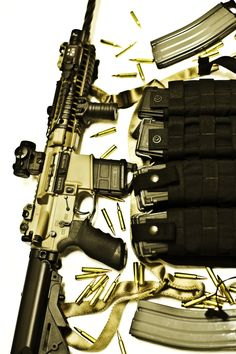 Tricked out M4