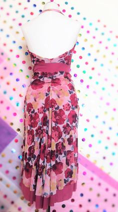Tea Rose halter dress. Get 15% OFF here:  http://eepurl.com/9P2iv