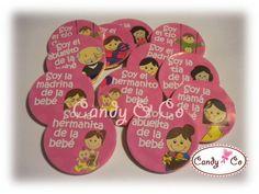 10 Monedas De Chocolate Decoradas Baby Shower, Despedida.. - $ 65.00 en MercadoLibre