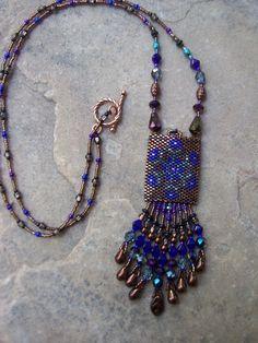 Handmade Artisan Beadwork Medicine Bag by DancingDogStudio