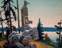 Robert Genn, artist, original landscape paintings at White Rock Gallery At Skeena Crossing