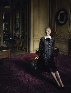 Tilda Swinton for Chanel, photographed by Yelena Yemchuk for Vogue Italia, July 2016.