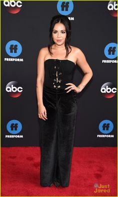 a9d8484bbf2 Janel Parrish at the ABC   Freeform Upfront 2018 Sasha Pieterse