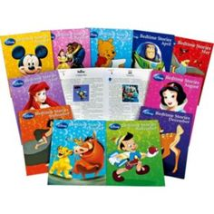 Buy Disney 365 Bedtime Story Books - 12 Pack at Argos.co.uk - Your Online Shop for Books, 2 for 15 pounds on Toys, Pre-school.