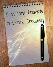 a writer's inspiration: 10 Plot Prompts to Spark Creativity
