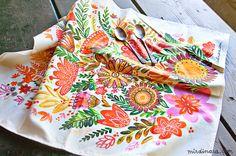 perfect summer tea towel