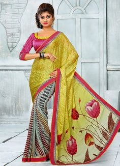 We are offering a range of Designer Sarees, which is renowned in the market for great size and color fastness. Due to top quality and unique pattern of designs, these are appreciated by the patrons. These s Sarees are checked for their flawlessness prior to the delivery to the patrons. Offered at low prices, these products can be worn in different parties and particular functions.