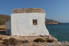 Panagia Grafiotisa on the island of Pserimos in Greece. A beautiful Church right next to the beach a few kilometers away from the main harbor. Mount Rushmore, Islands, Greece, Landscapes, Mountains, Beach, Nature, Travel, Beautiful