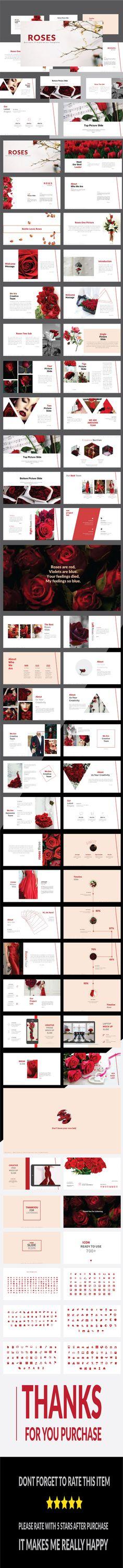 Roses - Multipurpose PowerPoint Template