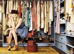 wardrobes don't have to be stuffed!