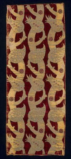 Fabric length      Turkish, Ottoman, mid-16th century       Turkey