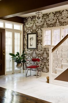 Fresh Modern Front Entry way