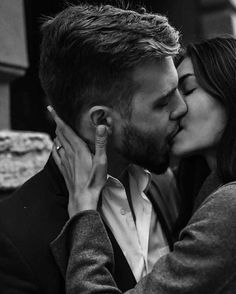 Trapped in a monotonous relationship? Miss feeling passion and excitement? Relive the passion - find an affair! Love Couple, Couples In Love, Romantic Couples, Romantic Kiss In Bed, Couple Kiss In Bed, Strong Couples, Romantic Photos, Cute Relationships, Relationship Goals