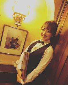 #川田裕美 #セント・フォース 喫茶店で珈琲の香りにつつまれて働くの、憧れますね…✨☕️☕️ #純喫茶 #ベロアのソファ #だいたい #ホットケーキ美味しい