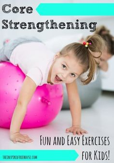 Of course, you could also just sign up for Kids Yoga or Family Yoga at @breathespacedc and combine core strengthening with yoga poses, games, songs and fun.