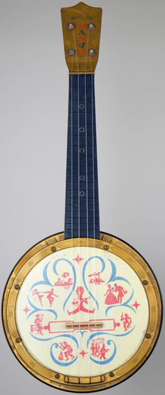 [Uke of the day 2014] My Mastro plastic Banjo by Mario Maccaferri at Ukulele Corner --- https://www.pinterest.com/lardyfatboy/