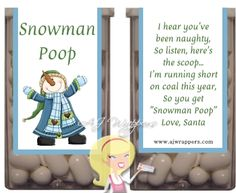 Ordering mine now! B Snowman Poop Tic Tac Wrapper Snowman Poop, Snowman Crafts, Snowmen, Christmas Snowman, Christmas Crafts, Merry Christmas, Bridge Card, Easter Crafts, Easter Ideas