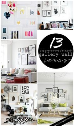 13 INSPIRATIONAL GALLERY WALL ideas