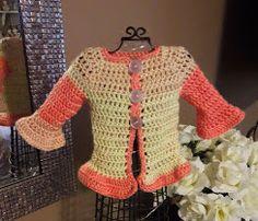Bella Bambina Knits: Pretty Sweater