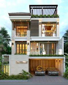 New home design plans front elevation Ideas Modern house design - Modern Exterior House Designs, Modern Small House Design, Small House Exteriors, Minimalist House Design, Dream House Exterior, Modern Architecture House, Modern House Plans, 3 Storey House Design, Duplex House Design