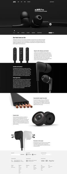 WIX Website Design Inspiration Design and Advice - Wix Template - Create your website with Wix. - WIX Website Design Inspiration Design and Advice Web Design Trends, Design Sites, Web Ui Design, Page Design, Web Design Black, Flat Design, Design Design, Modern Web Design, Layout Design