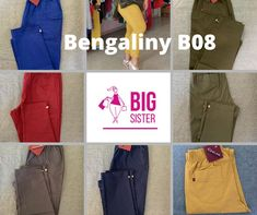 Bengaliny B08 slim fit - Big Sister