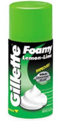 Gillette Lemon Lime Shave Foam