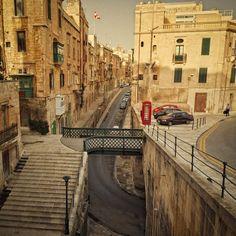 Valletta Street View by Allard Schager on 500px