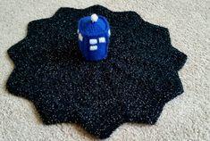 TARDIS Crochet Baby Blanket/Lovey by PixelCrochet on Etsy