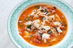 Dad's Fish Stew ~ Quick, easy, and absolutely delicious fish stew recipe.  Fresh fish fillets cooked in a stew with onions, garlic, parsley, tomato, clam juice and white wine.  Seasoned with oregano, Tabasco, thyme, salt and pepper. ~ SimplyRecipes.com