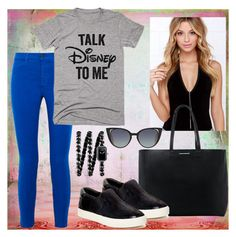 """""""Untitled #35"""" by justanangel-1999 on Polyvore featuring J Brand, Disney, MANGO, Fendi, Ash and Chanel"""