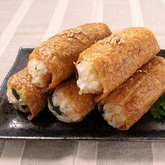 たぬきときつねのコラボ たぬきご飯のおいなりさん | 料理動画(レシピ動画)のkurashiru [クラシル]