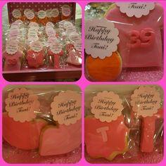 30th Birthday  cookie box!!