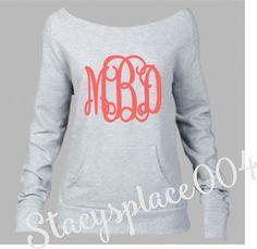 monogrammed sweater, monogrammed sweatshirt, monogram sweater, monogram sweatshirt, crewneck sweater