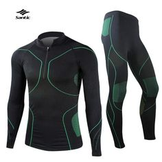 Cheap sportswear, Buy Quality sportswear pants directly from China sportswear children Suppliers: Winter Cycling Clothing & Equipment Men`s Sports Thermal Underwear Autumn & Winter Windproof&nb